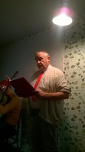 Julsalong Svante läser Tomten